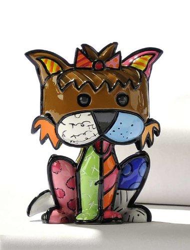 Romero Britto Mini Terrier Dog Precious by Giftcraft