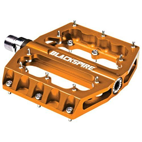 Blackspire Pedal Sub4 Orange Cnc Alloy Cro-Mo - Cromo Axle Pedals