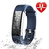 Letsfit Fitness Tracker, Activity Tracker with Heart Rate Monitor and Sleep Monitor, Step Counter Pedometer Watch, IP70 Water Resistant Smart Bracelet for Kids Women and Men