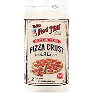 Bobs Red Mill Gluten Free Pizza Crust Mix, 16-Ounce Bags (Pack of 4)
