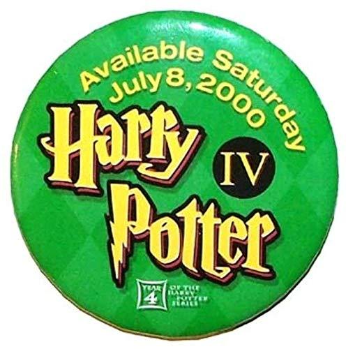 Harry Potter IV Promotional Pinback Button (Promotional Pinback Button)