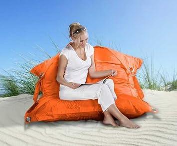 Outdoor Sitzsack Xxl Von Smoothy In Orange Amazonde Küche Haushalt