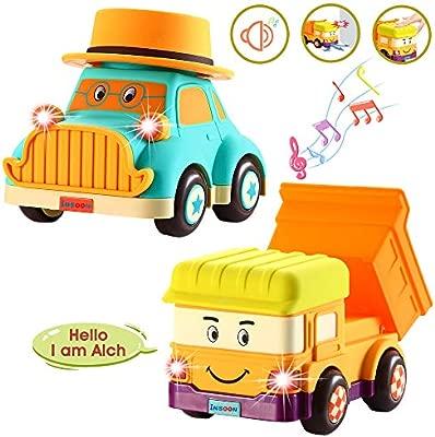 Amazon.com: INSOON Juguetes de coche y camión para niños de ...