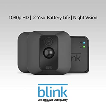 Wall Mount Blink XT Home Security Camera System with Motion Detection HD Video