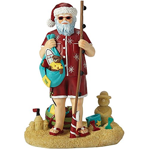 "Precious Moments Pipka, Seashore Santa"", Santas Of America Collection, Resin Figurine, 7161209"