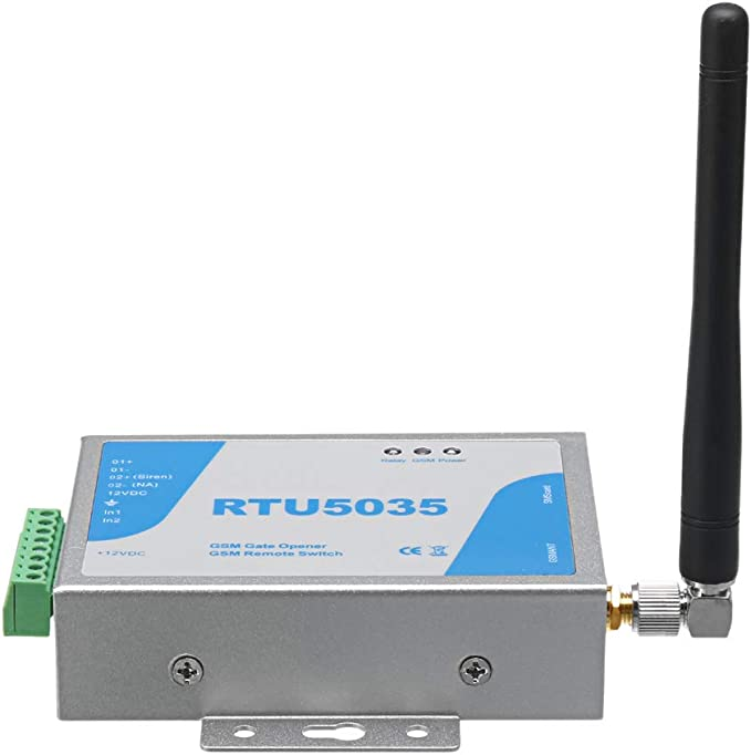 RTU5035 GSM Gate Opener Relay Switch Wireless Remote Control with Antenna NIGH