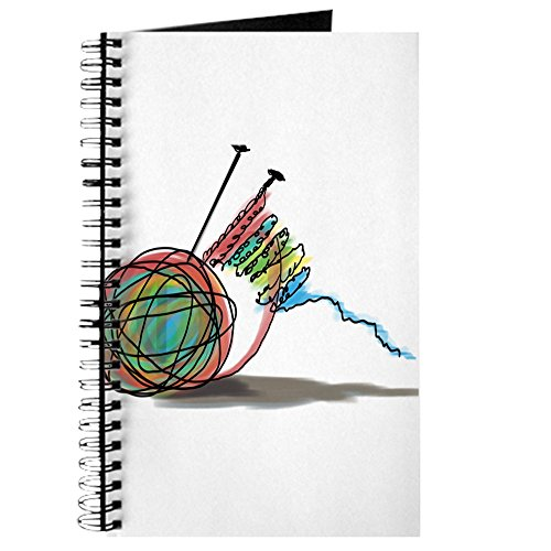 CafePress Time to Knit Spiral Bound Journal Notebook, Personal Diary, Blank