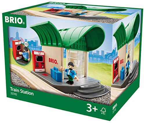 BRIO Train Station Toy - Train Station