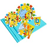 BirthdayExpress Dr Seuss Favorites Party Supplies - Party Pack for 24 Guests