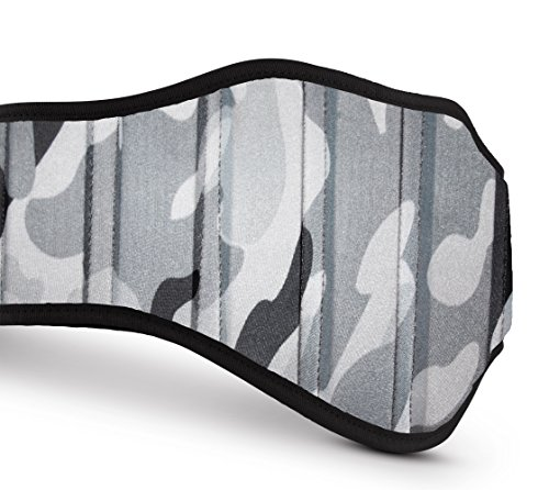 Weight Lifting Belts (Camouflage Gray, Medium)