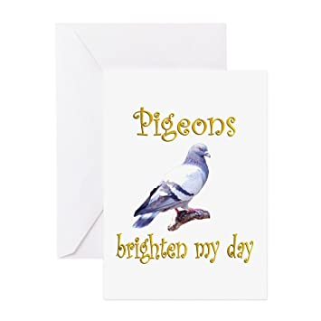 Cafepress Pigeon Greeting Card Note Card Birthday Card Blank