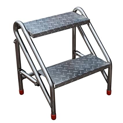 Swell Amazon Com Industrial Folding 2 Tread Portable Stepstool Pdpeps Interior Chair Design Pdpepsorg
