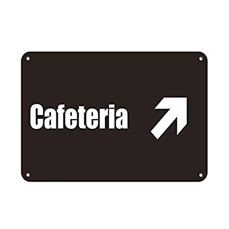 WallAdorn Cafeteria with Upper Right Arrow Lunch Room and ...