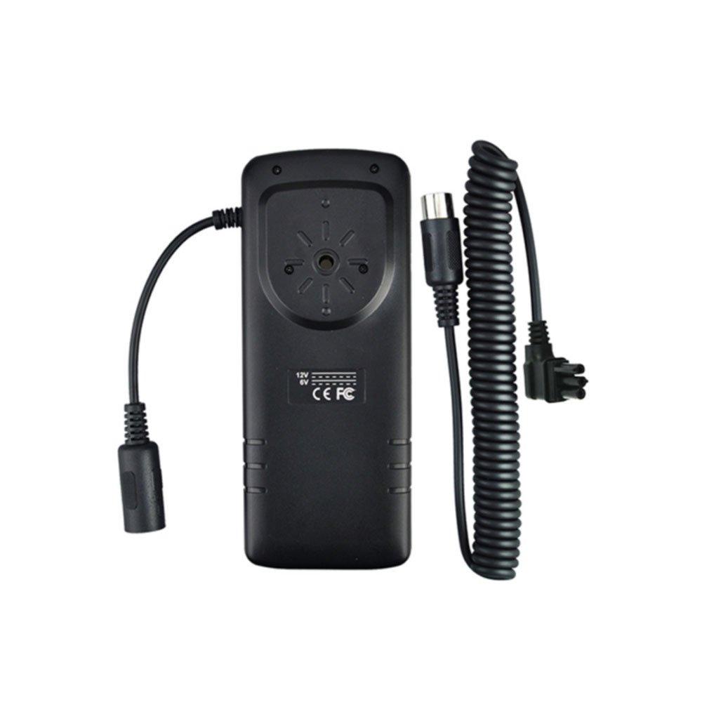 JJC External Flash Battery Pack Replaces Nikon SD-9, Black (BP-NK1) by JJC