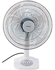 "Mistral MTF161 Table Fan, 16"", Winter Grey"