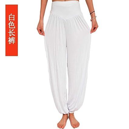 FBYYJK Pantalones De Yoga,Pantalones Blancos Slim ...
