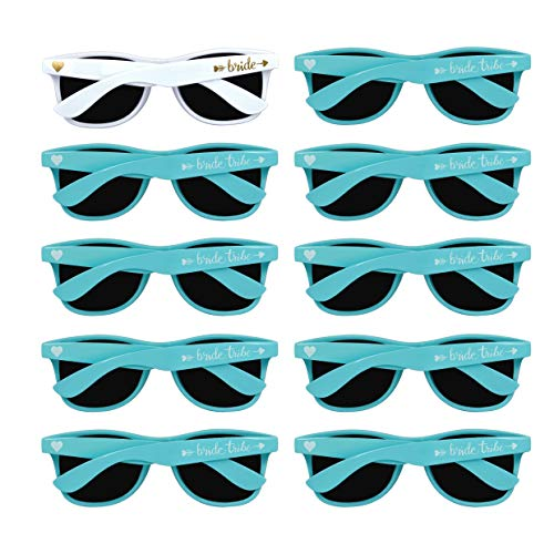 Bridal Shower Favors Bachelorette Party Supplies 10pcs Blue Weddings Sunglasses