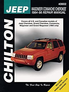 jeep cherokee wagoneer comanche 1984 2001 haynes repair manuals rh amazon com Grand Cherokee Owners Manual Jeep Grand Cherokee Battery Replacement