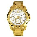Citizen Analog White Dial Men's Watch-AG8332-56A
