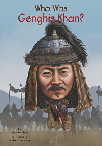 Book Cover: Who Was Genghis Khan?