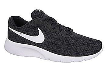 Nike Jungen Tanjun (GS) Laufschuhe, Schwarz (Black/White-White), 40 EU