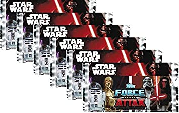 Topps Star Wars Force Attax 10 Booster = 50 Trading Cards