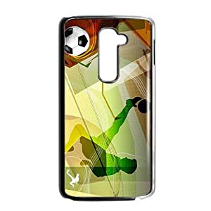 Creative Football Pattern Custom Protective Hard Phone Cae For LG G2