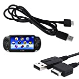 Best Ps Vita Chargers - HDE 2-in1 USB 2.0 Data Sync Transfer Review