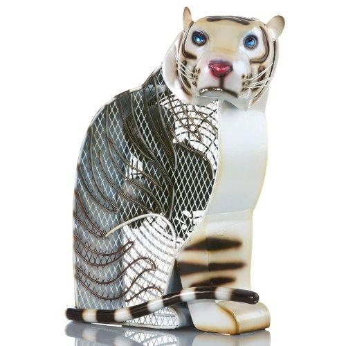 Deco Breeze White Tiger Figurine Fan by Deco Breeze