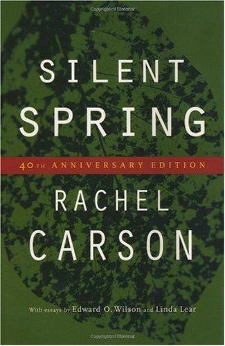 Amazoncom By Rachel Carson Silent Spring Fourtieth Th Edition  By Rachel Carson Silent Spring Fourtieth Th Edition