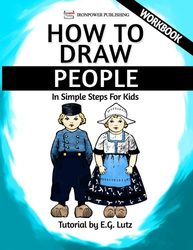 How To Draw People In Simple Steps For Kids Workbook Easy