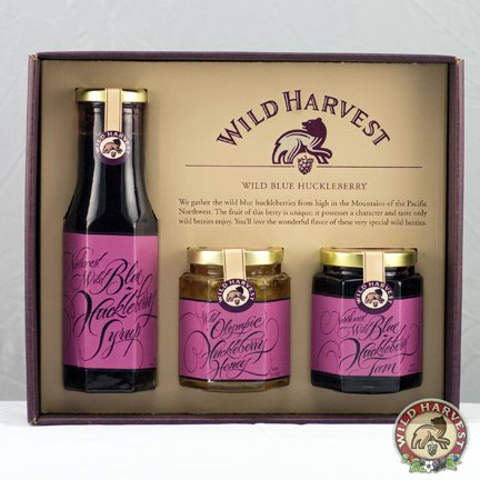 Wild Huckleberry Gift Collection