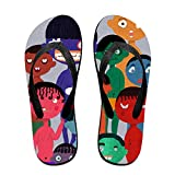 Womens' Halloween Slim Sandal For Sandals Pool Antimicrobial Shower & Water M