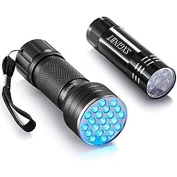 Amazon Com Sxginbt 365nm Uv Light Uv Flashlight