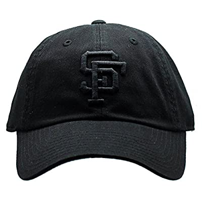 San Francisco Giants MLB American Needle Tonal Ballpark Slouch Cotton Twill Adjustable Hat (Black)
