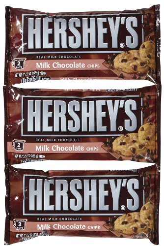 Hershey's Milk Chocolate Baking Chips - 11.5 oz - 3 pk