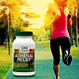 #1 Best Adrenal Fatigue Support Supplement Gluten Free - Lowers Stress, Anxiety, & Exhaustion - Magnesium for Sleep - Vitamin C, B-6. B-12, & Ashwagandha - Regulates Cortisol (1 Month Supply)