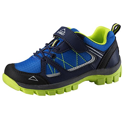 McKinley Kinder Multifunktionsschuhe Maine Aqb Jr, Zapatos de Low Rise Senderismo Unisex Niños Blue Royal/Green lime