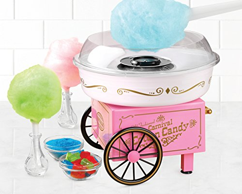 082677505682 - Nostalgia PCM305 Vintage Collection Hard & Sugar-Free Candy Cotton Candy Maker carousel main 1