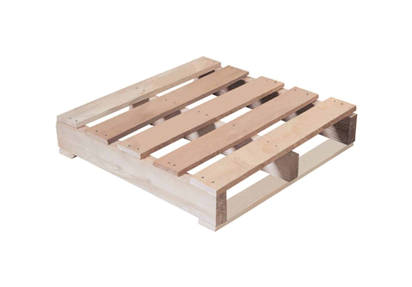 RetailSource 24'' x 24'' x 5 1/2'' #1 Recycled 1000 Lbs. Capacity Wood Pallet  (recycled pallet appearance may vary)