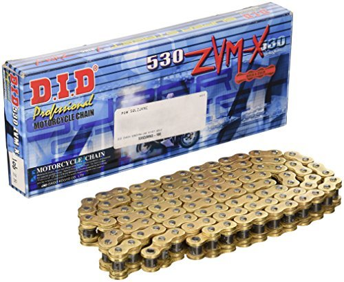 (DID 530ZVMXG-106 Gold X-Ring Chain with Connecting Link)