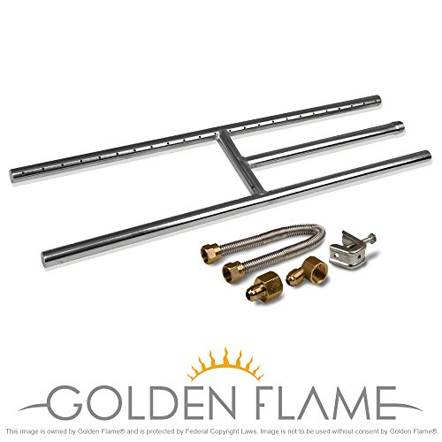 Natural Fire Fireplace H Burner connection product image