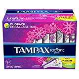 Tampax Radiant Duopack Tampons, Regular/Super (84 ct.) (pack of 6)