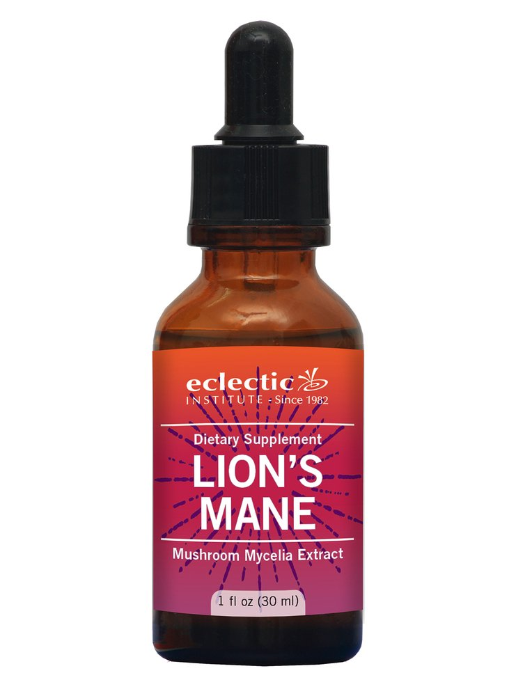 Eclectic Lion's Mane O, Red, 1 Fluid Ounce