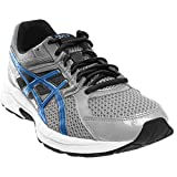 ASICS Men's Gel Contend 3 Running Shoe, Silver/Electric Blue/Black, 15 M US