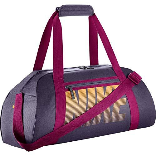 - Nike Gym Club Women's Training Duffel Bag (One Size, DARK RAISIN/SPORT FUCHSIA/MELON TINT)