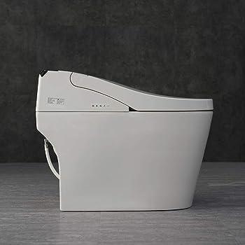 WOODBRIDGE B0950S Compact One-Piece Dual Flush Toilet