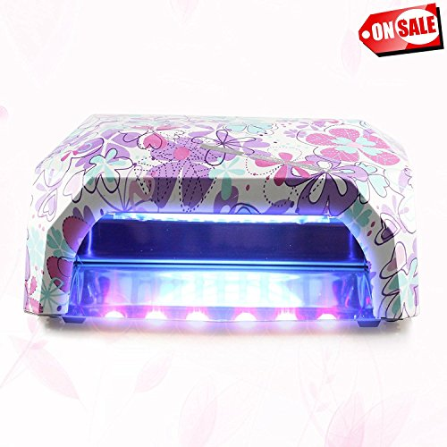 uv gel light nail dryer - 9
