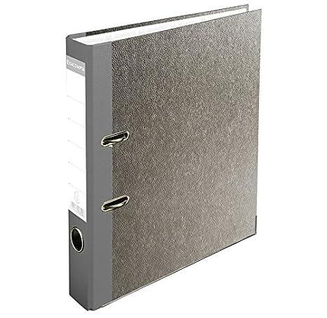 Exacompta – Lote de 5 archivadores de palanca papel mármol gris A4 D50 prem Touch