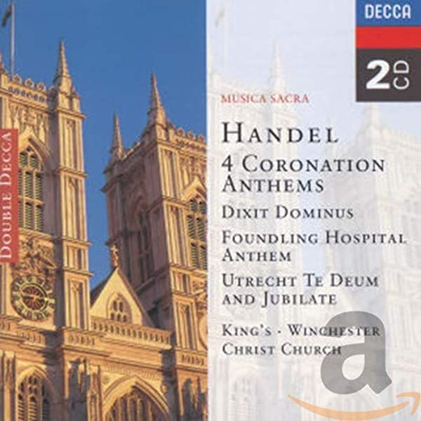 Handel: 4 Coronation Anthems/Dixit Dominus etc.: The Choir of Kings College, Cambridge: Amazon.es: Música